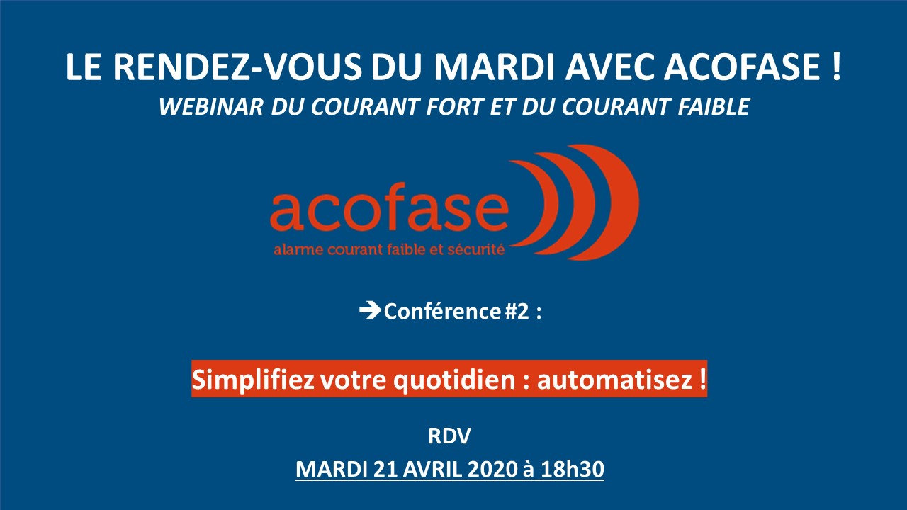 Conférence 2 : faac