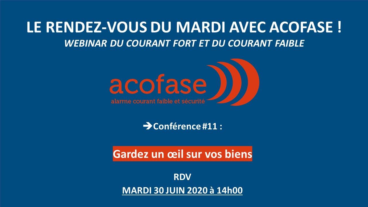 Conférence 11 : vidéo protection