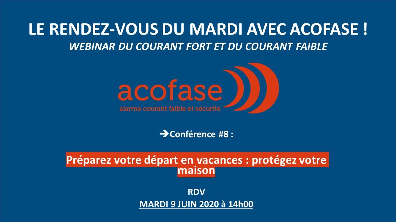 Conférence 8 : alarme anti intrusion