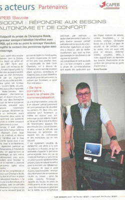 Journal du BTP - Février 2021 - VISIODOM