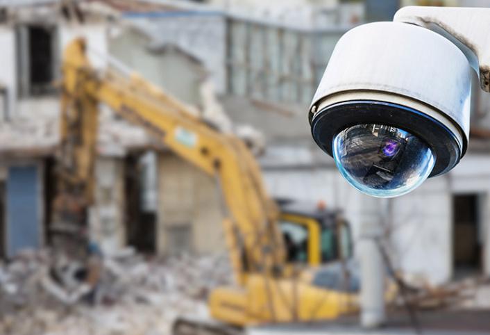 Protection électronique des chantiers